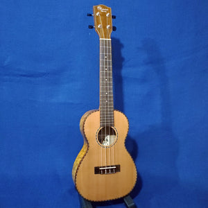 Ohana Concert CK-50WG Solid Cedar Top / Laminate Willow Gloss Ukulele i570