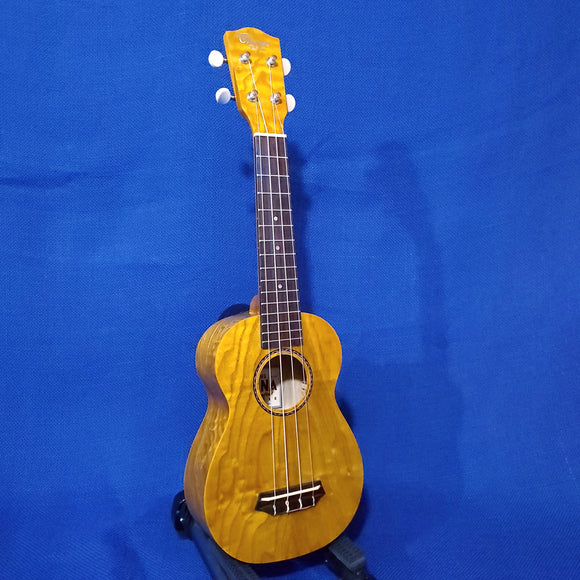 Ohana Soprano SK-15WG Laminate Willow Gloss Ukulele i642