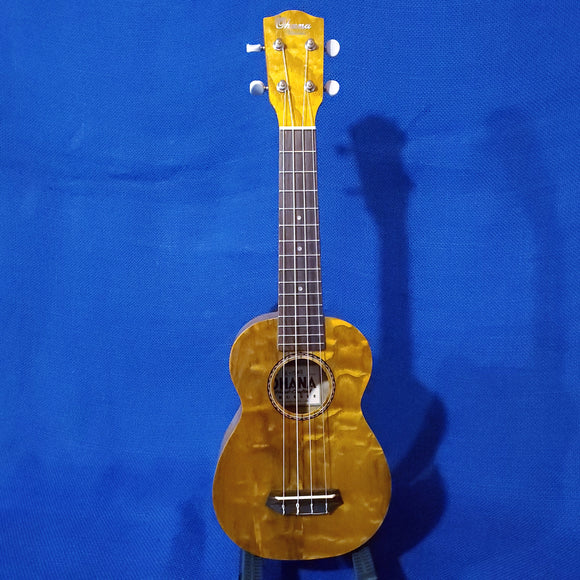 Ohana Soprano SK-15WG Laminate Willow Gloss Ukulele i645