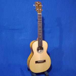 Ohana Tenor TK-70WG Solid Spruce Top /Laminate Willow Ukulele i704