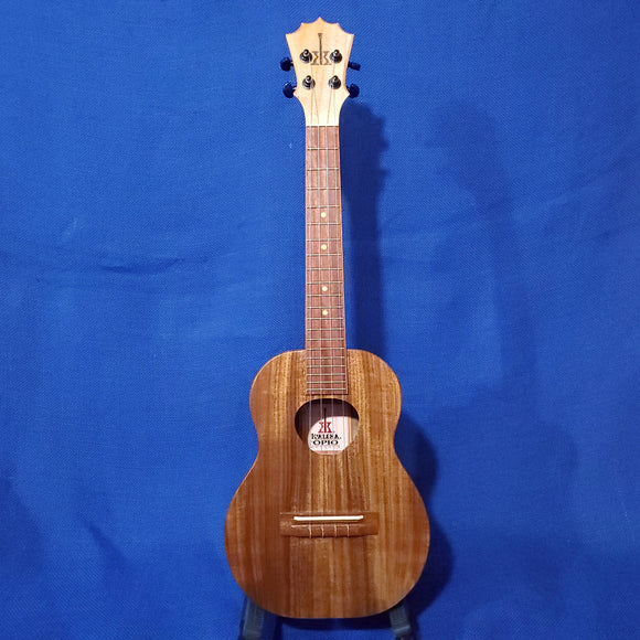 KoAloha Opio Tenor All Solid Acacia KTO-10 Ukulele w/ Bag i715