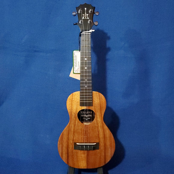 KoAloha Concert Silver 25th Anniversary All Solid Koa KCM-00 Serial #246 Made in Hawaii Ukulele w/ Hardcase i745
