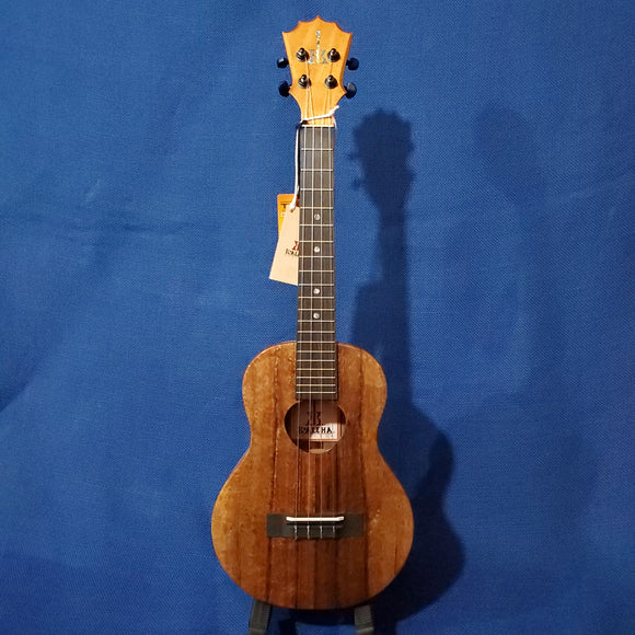 KoAloha Tenor All Solid Koa KTM-00 Gloss Made in Hawaii Ukulele w/Hardcase i753