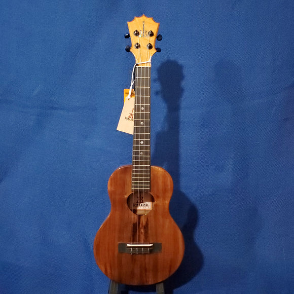 KoAloha Tenor All Solid Koa KTM-00 Gloss Made in Hawaii Ukulele w/Hardcase i754
