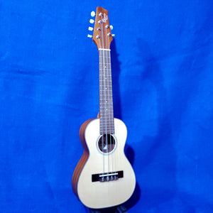 Ohana Concert Unique 6 String CK-70-6A All Solid Spruce / Mahogany Ukulele i906