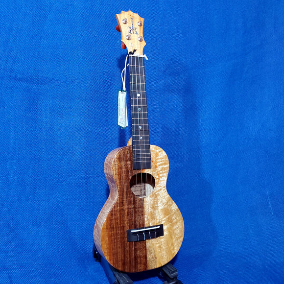 KoAloha Concert Naupaka All Solid Koa & Mango KCNP-00 Gloss Made in Hawaii Ukulele w/Hardcase -027