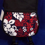 Ohana Concert Ukulele Gig Bag Red Hibiscus Theme Hawaiian Print UB-24RD Accessory