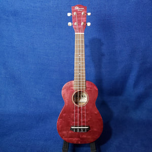 Ohana Soprano SK-15WPL Purple Laminate Willow Ukulele m301