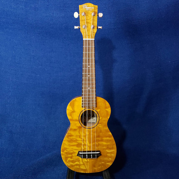 Ohana Soprano SK-15WG Laminate Willow Gloss Ukulele m828