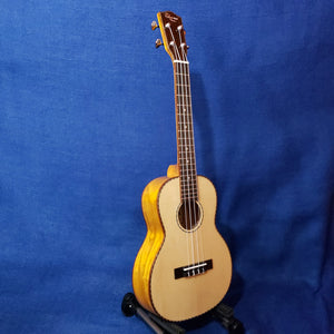 Ohana Tenor TK-70WG Solid Spruce Top /Laminate Willow Ukulele m324