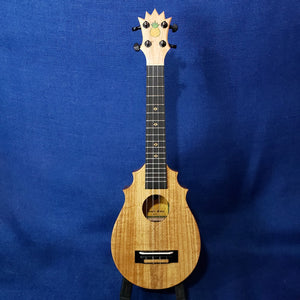 KoAloha UkeSA Concert Pops' Pineapple Sunday PAUC-C All Solid Acacia Import Ukulele M555