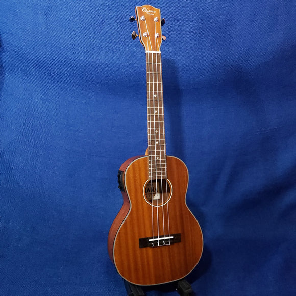 Ohana Tenor TK-14EQ Blem Laminate Mahogany A/E with Binding Ukulele M626