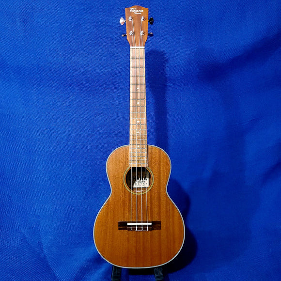 Ohana Tenor TK-20 Solid Mahogany Top / Laminate Back and Sides Ukulele u438