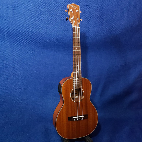 Ohana Tenor TK-14EQ Blem Laminate Mahogany A/E with Binding Ukulele M620