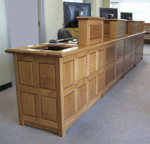 Public Library Circulation Desk