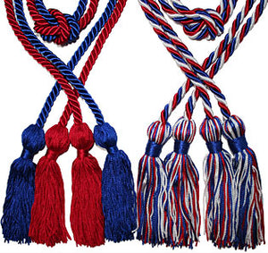 Triple-Tied Graduation Honor Cord