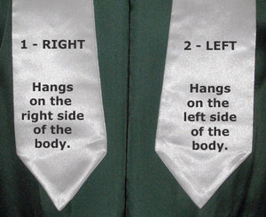 Embroidery Graduation Stole