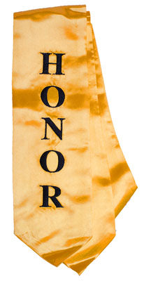 Embroidered Honor Stole