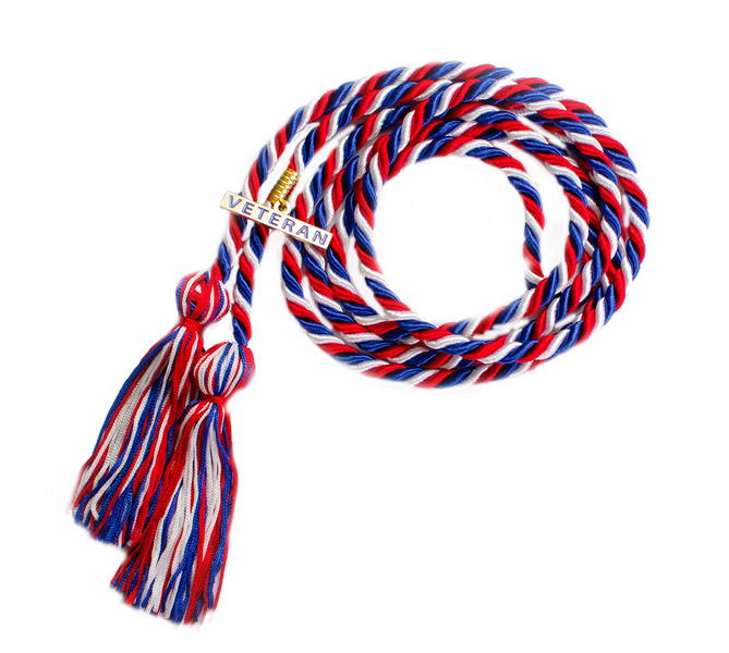Veteran Honor Cord with Charm