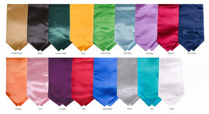 Graduation Stole - Solid Color