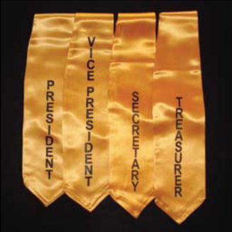 Embroidered Class Officer Stoles