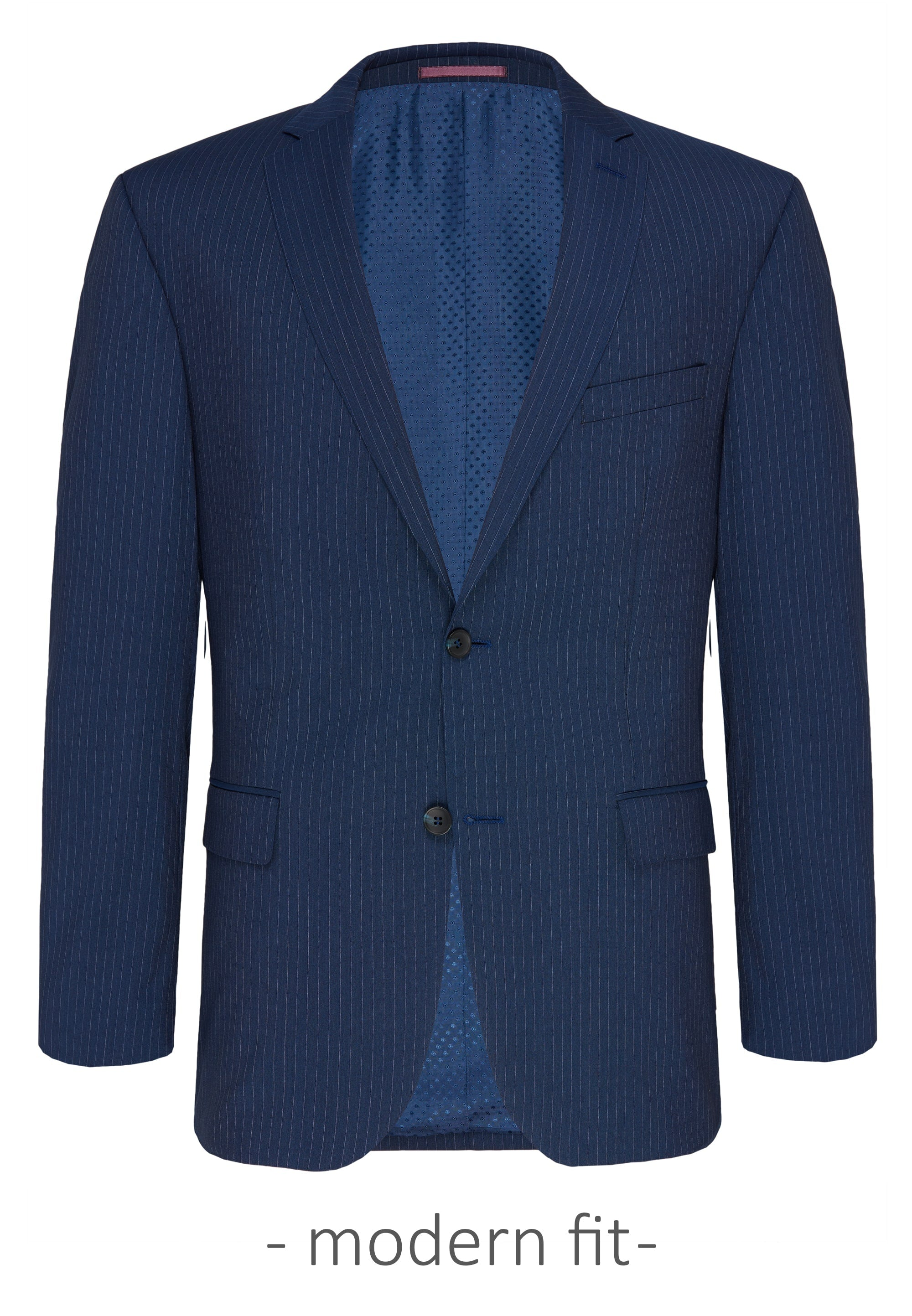 Carl Gross Blue Stripe Suit Jacket (Piece 1)