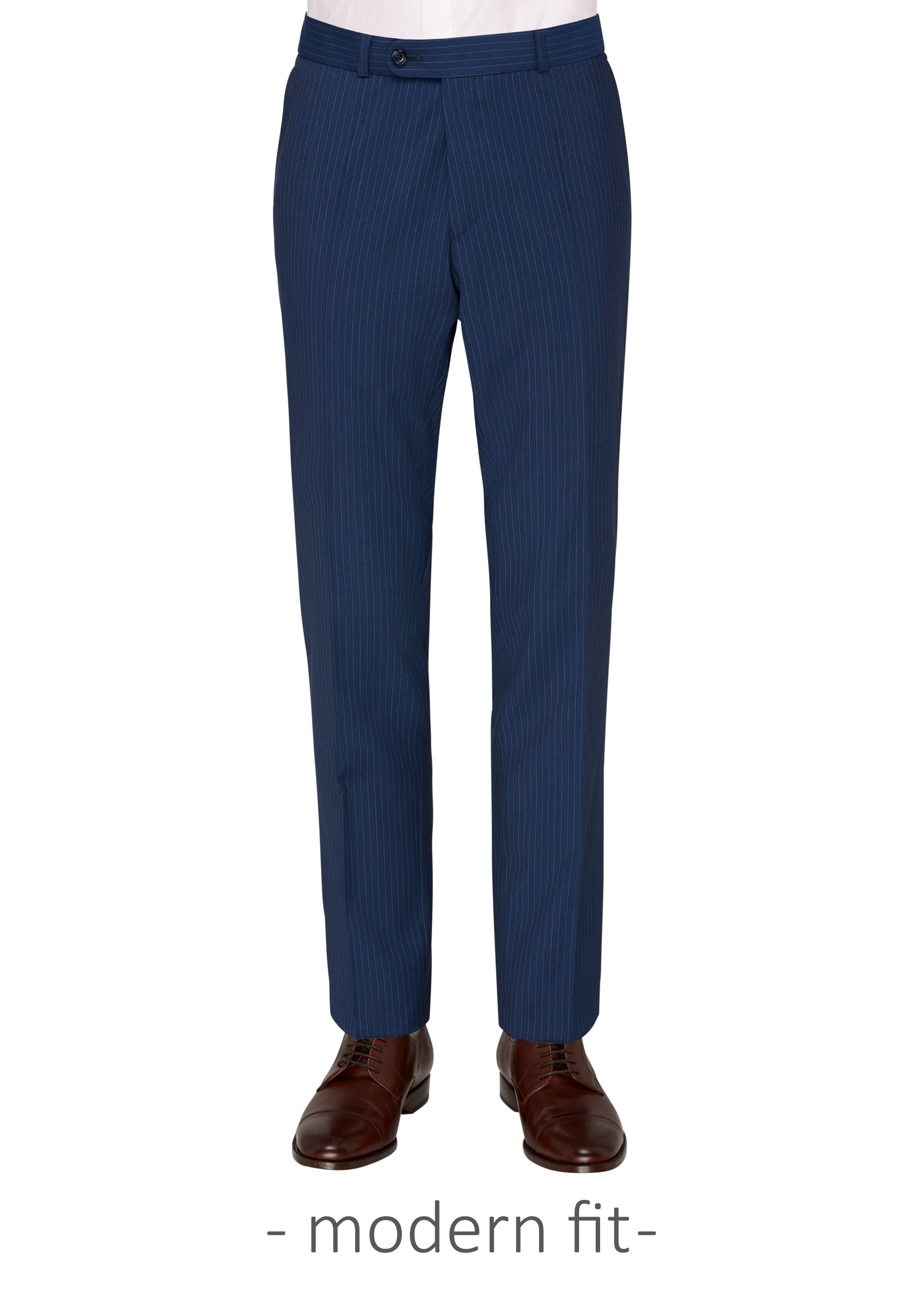 Carl Gross Blue Stripe Suit Trousers (Piece 2)