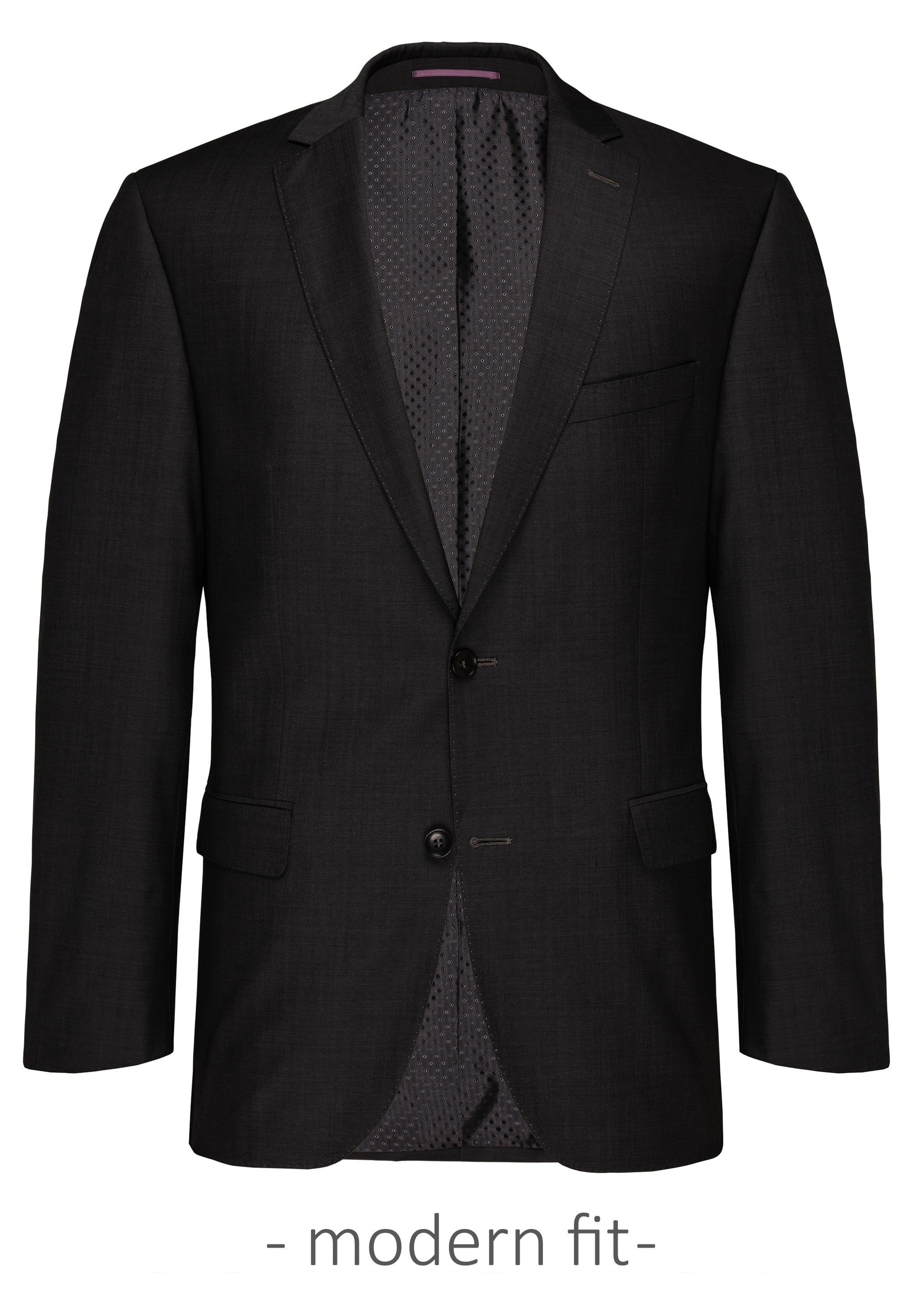 Carl Gross Black Suit Jacket (Piece 1)