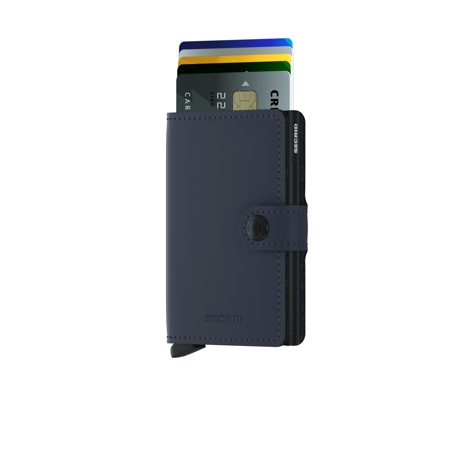 Secrid Miniwallet - Matte Nightblue