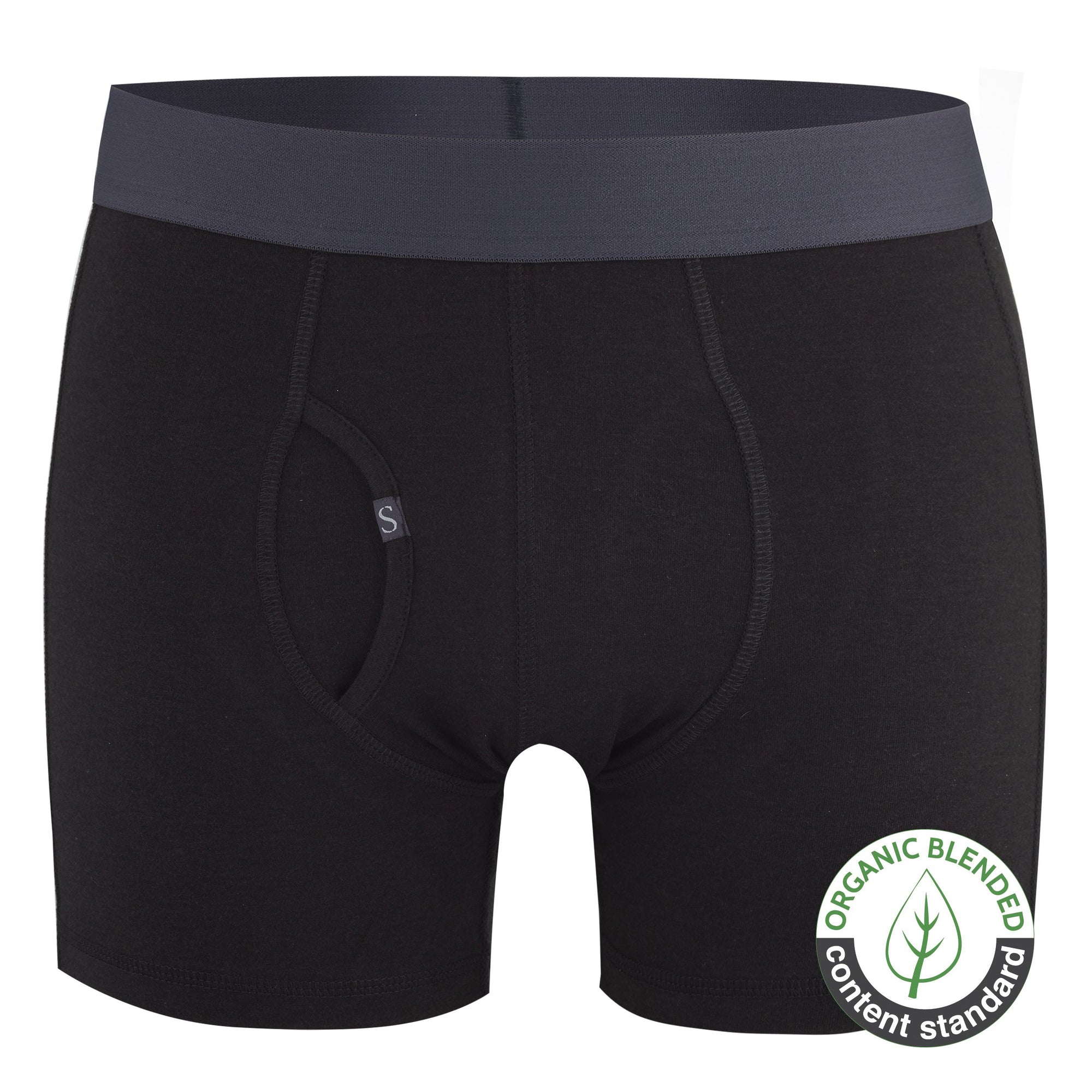 Bamboo Luxe Boxer Brief - Black