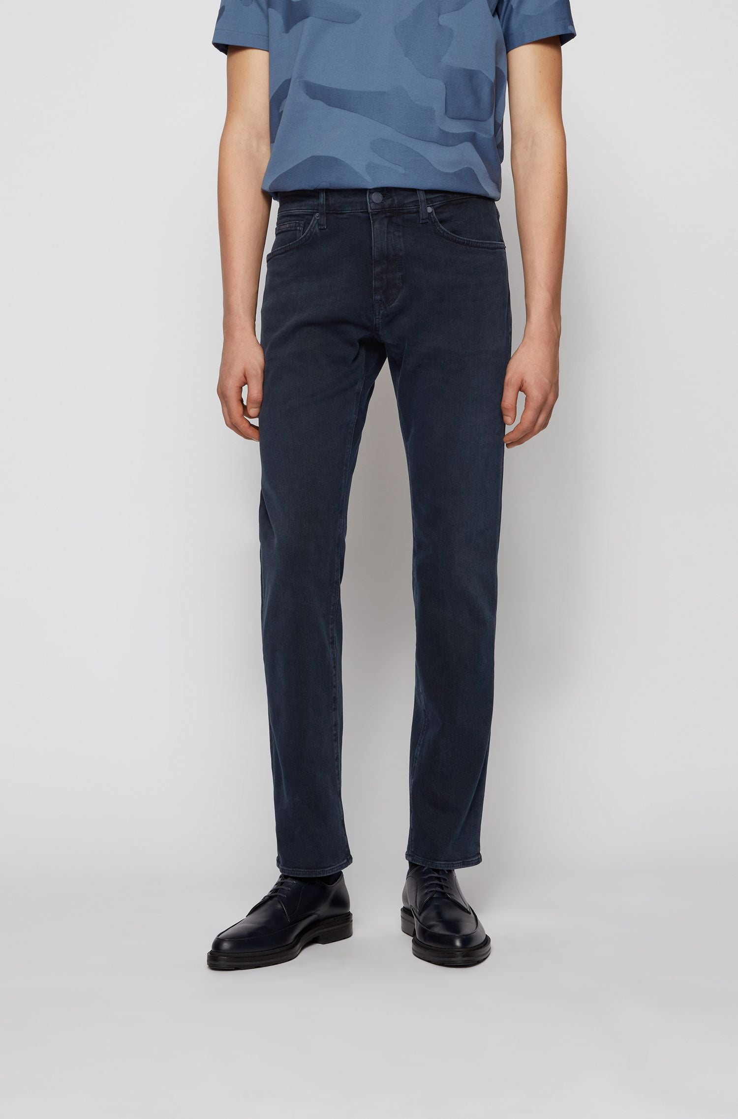 Hugo Boss Maine Jeans - Dark Denim