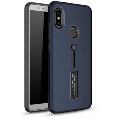 Buy Online Back Cover For Mi Redmi Note 6 Pro (Black) - Yamdeal