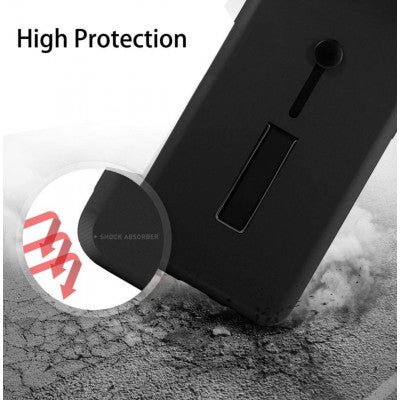 Buy Online Back Cover For Mi Redmi Note 8 Pro (Black) - Yamdeal