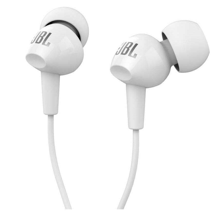 Openbox JBL C150Si In Ear Headphones White Colour Refurbished - Yamdeal