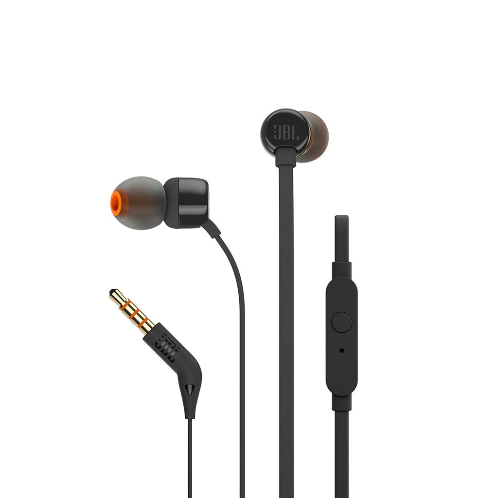 JBL T160 In Ear Wired Earphones With Mic Openbox - Yamdeal