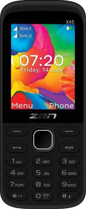 New Zen Atom X45 Dual SIM Mobile Phone Sealed Pack 1 Year warranty Pay Cash on Delivery - Yamdeal