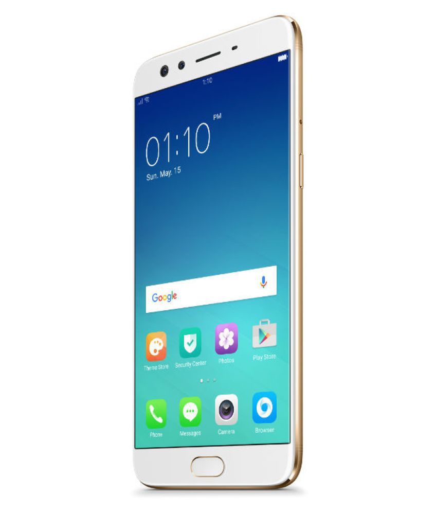 OPPO F3 Plus Gold Color 64GB Storage, 4GB Ram Mobile Phone Refurbished Condition 6 Months Seller Warranty - Yamdeal