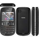 Used Nokia Asha 201 Mobile Phone(Graphite) - Yamdeal