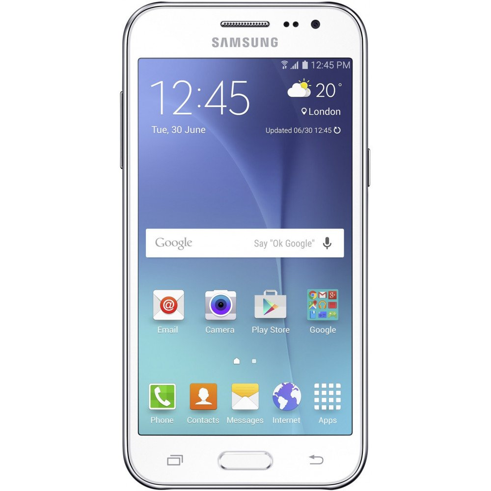 Used Samsung Galaxy J2 8GB White Color mobile Phone Refurbished 1 Year Seller Warranty - Yamdeal