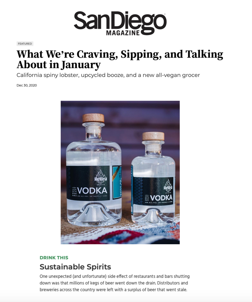 Sustainable Spirits