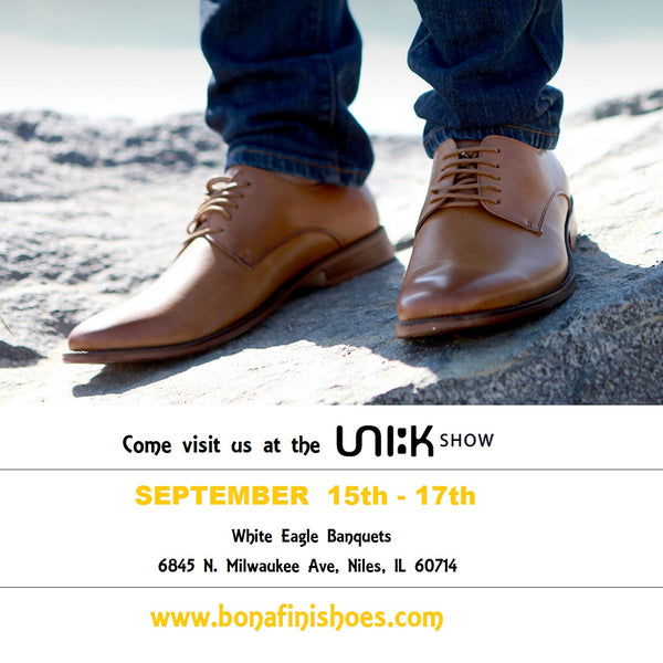 Bonafini Shoes Unik Show chicago 2015