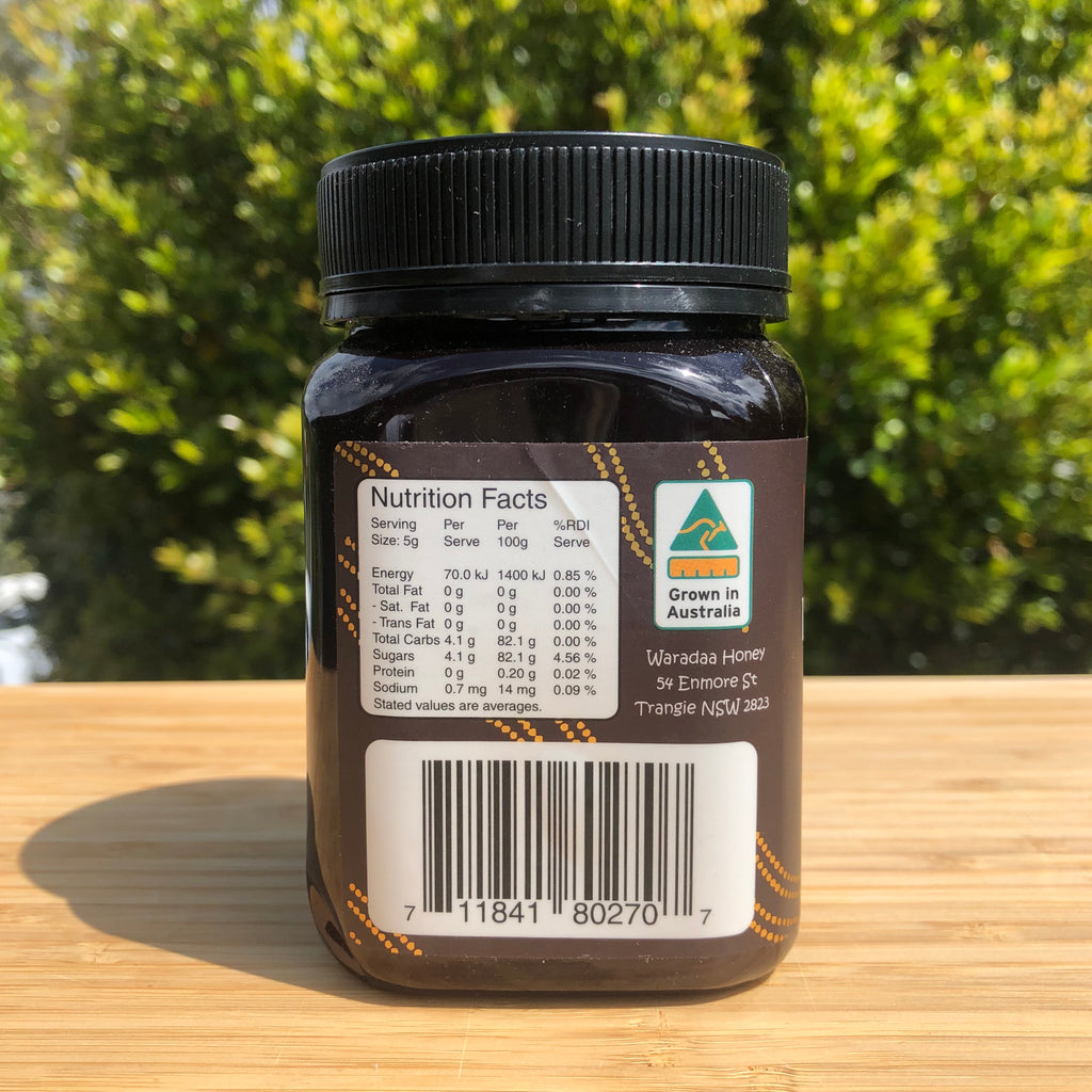 Ironbark Honey Nutrition Facts