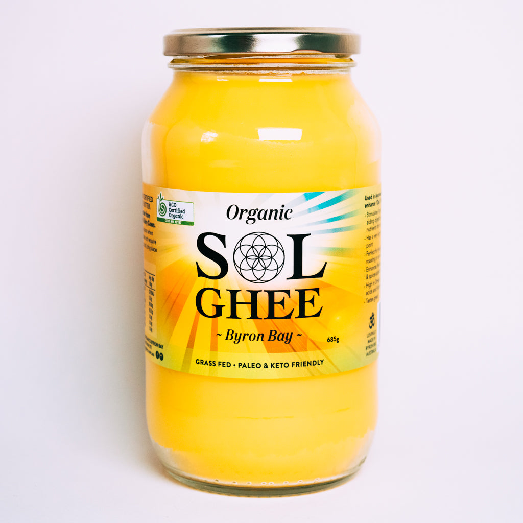 Sol Ghee - organic unsalted
