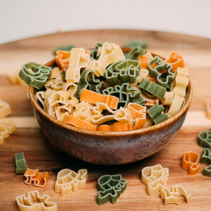Organic Zoo Pasta with Tomato & Spinach 400g
