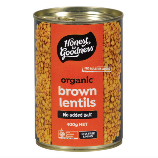 Honest to Goodness Organic Brown Lentils