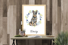 "Lade das Bild in den Galerie-Viewer, ""CATTLE DOG"", DIN A4, DIN A3"