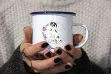 "Lade das Bild in den Galerie-Viewer, Personalisierter Emaille-Becher ""ENGLISH POINTER"", Tasse, Geschenk"