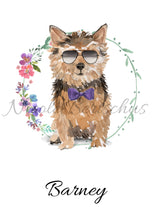 "Lade das Bild in den Galerie-Viewer, ""NORWICH TERRIER"", DIN A4, DIN A3"