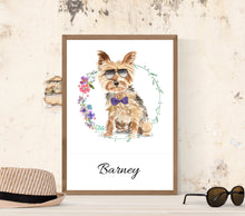 "Lade das Bild in den Galerie-Viewer, ""YORKSHIRE TERRIER"", DIN A4, DIN A3"