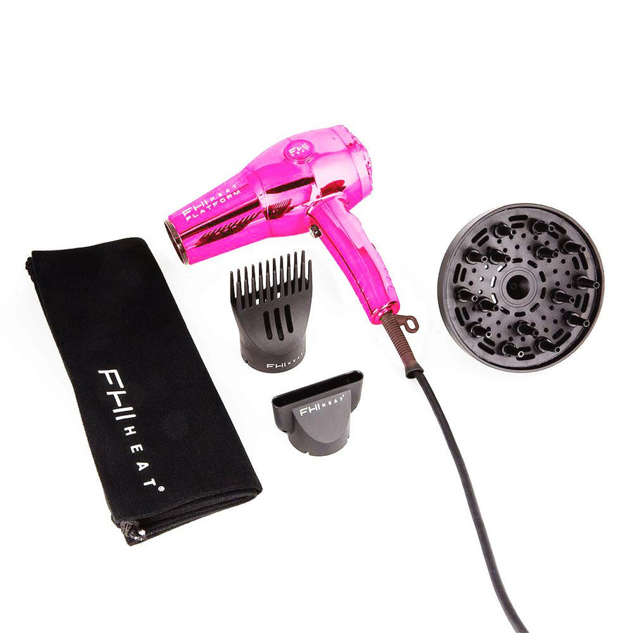 Platform 1900 Nano Lite Pro Hair Dryer: Pink Chrome